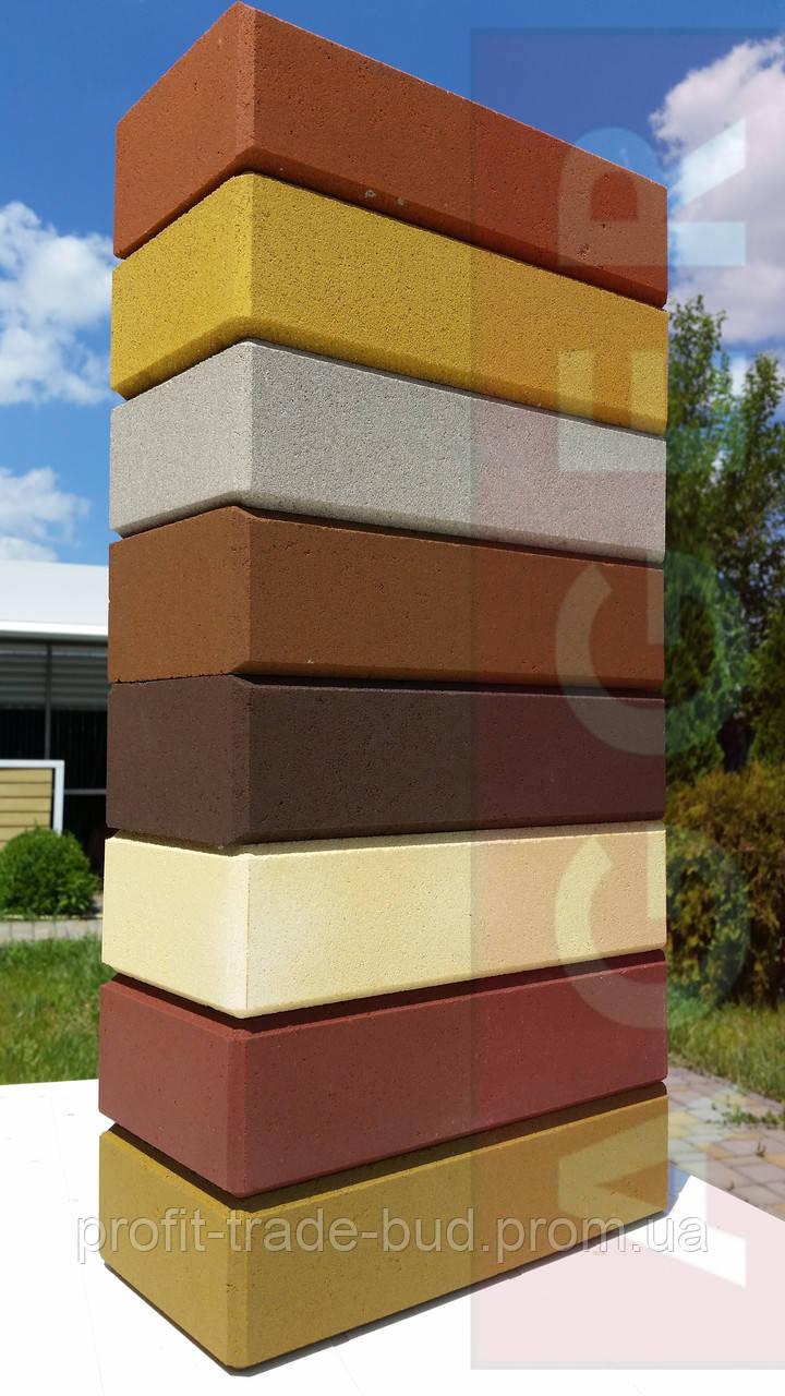 AGGER - LEGO кирпич облицовочный, рядовой цветной м75 (250х125х65) - ООО «ЛАКИ - БУД» в Броварах