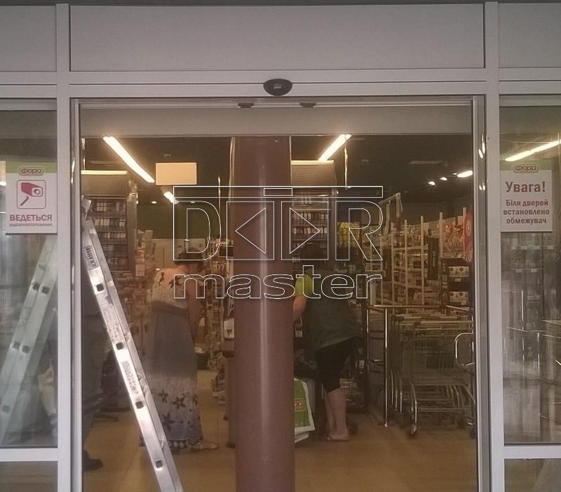 Автоматические двери Gilgen SLA, ФОРА (г. Киев) 23.07.2014
