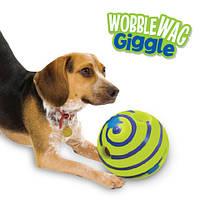 Игрушка для собак мяч хихикующий Wobble Wag Giggle, фото 1