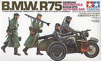 Мотоцикл BMW R75 с коляской