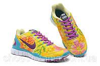 Женские кроссовки Nike Free TR Fit 5.0 желтие