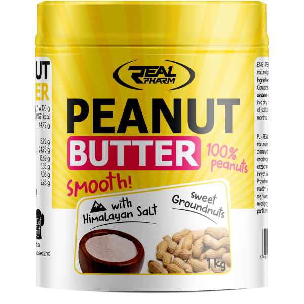 Real Pharm Peanut Butter Himalayan Salt 1000 g реал фарм арахисовая паста