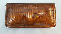 Henghuang женский кошелек из натуральной кожи на змейке