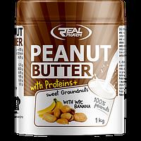 Real Pharm Peanut Butter WPC 1000 g реал фарм арахисовая паста