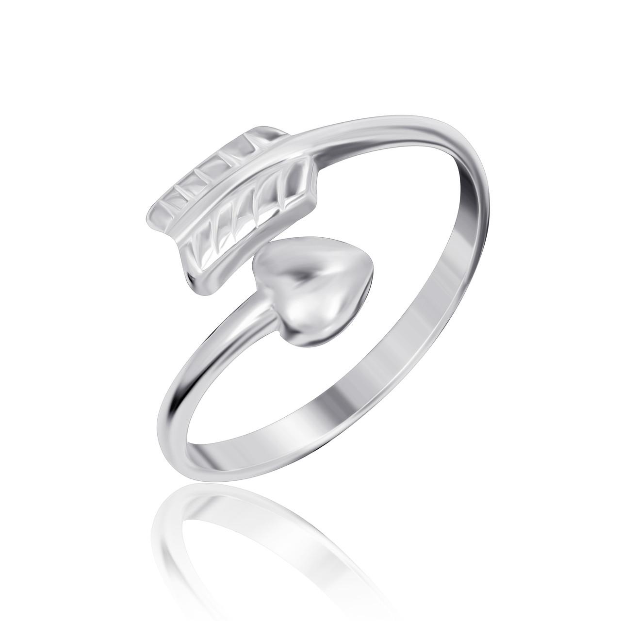 "Серебряное кольцо без камней ""721"""