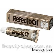 RefectoСil №3.1 Светло-коричневая краска для бровей и ресниц (Рефектоцил),15мл