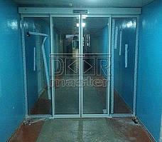 Автоматические двери Tormax 2101, Городская Больница №4 (г. Днепр) 14.09.2015 2