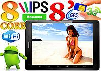Крутой планшет-телефон Goclever Aries 8 ядер,IPS экран 8, GPS, 1Gb/8Gb