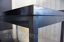 Стол из нержавейки для ресторана без нижней полки 700/600/850 мм, фото 3