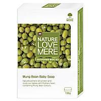 Детское мыло NatureLoveMere с экстрактом бобов мунг, 100 гр.