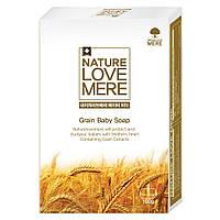 Детское мыло NatureLoveMere с экстрактом зерновых, 100 гр.