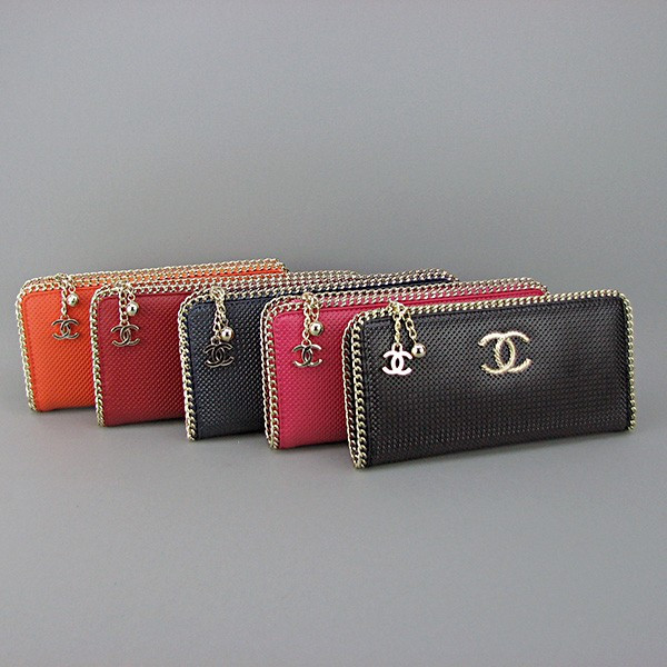 Клатч-кошелек кожаный женский цвета в ассортименте 0820