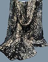 Палантин S брендовый 100% шелк KENZO  70х180см цв. 3