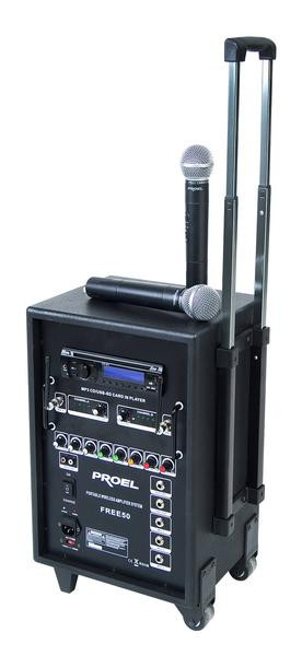 Мобильная система озвучивания, FREE50V2, V3