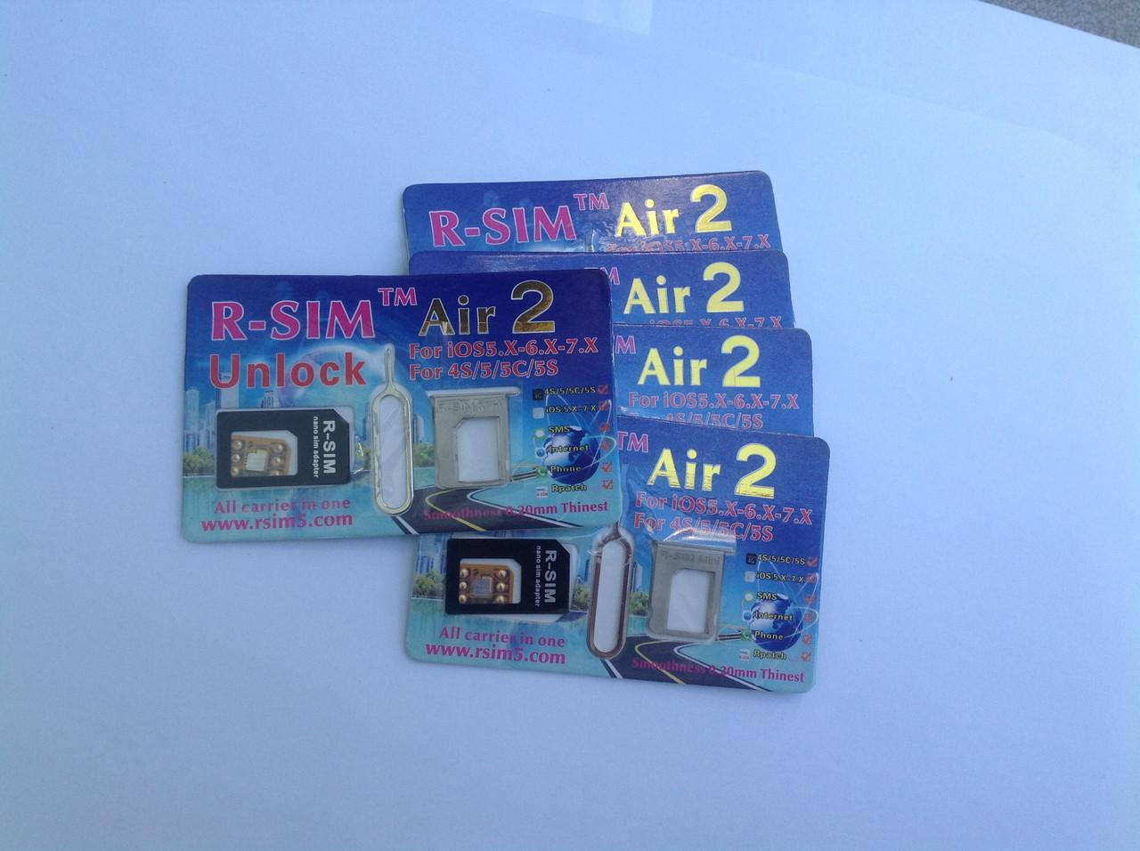 R-Sim Air2 Unlock iPhone 5S, 5C Sprint, T-mobile