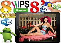 Модный планшет-телефон Goclever Aries 785 8 ядер,IPS экран 8, GPS, 1Gb/8Gb