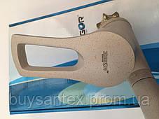 Смеситель для кухни Zegor, Troya  DYU бежевый(песочный), фото 3