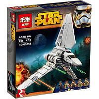 Конструктор Lepin 05057 Имперский шаттл Тайдириум - аналог Lego 75094 Star Wars, 977 дет.