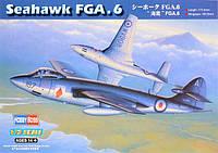 Сборная пластиковая модель самолета «Си Хок» FGA.6