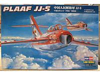 Сборная пластиковая модель самолета PLAAF JJ-5