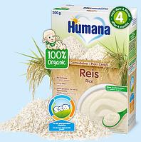 Безмолочная каша Humana органическая рисовая, 200 г