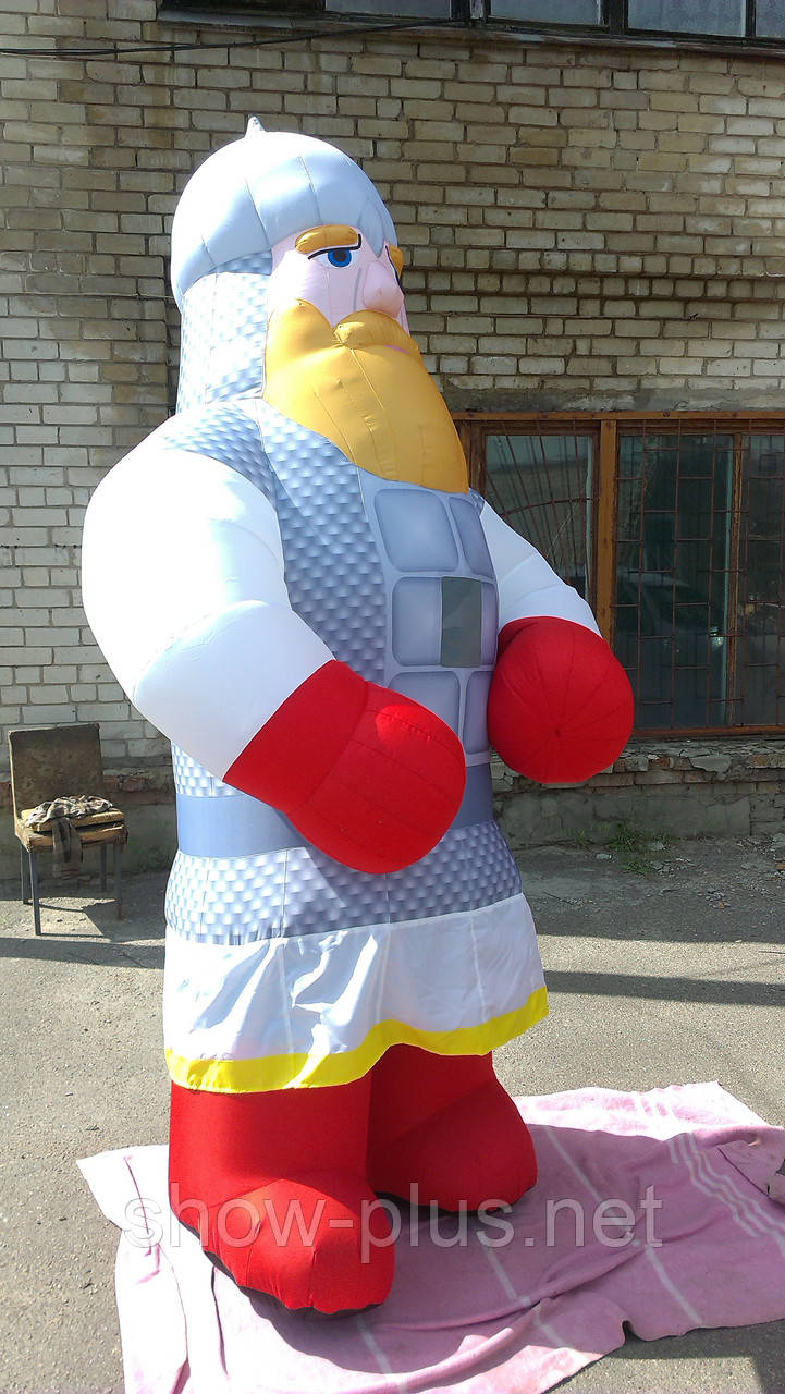 Надувной костюм (пневмокостюм, пневморобот) Богатырь