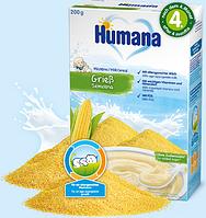 Молочная каша Humana Кукурузная, 200 г.