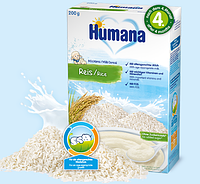 Молочная каша Humana Рисовая, 200 г.