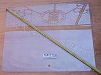 Стекло МТЗ-821-923 боковое (688*610) 3 отверстия, арт. 822-6708111
