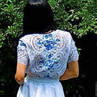 Летнее макси платье (№38)