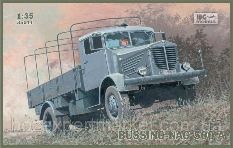 Грузовик BUSSING-NAG 500A