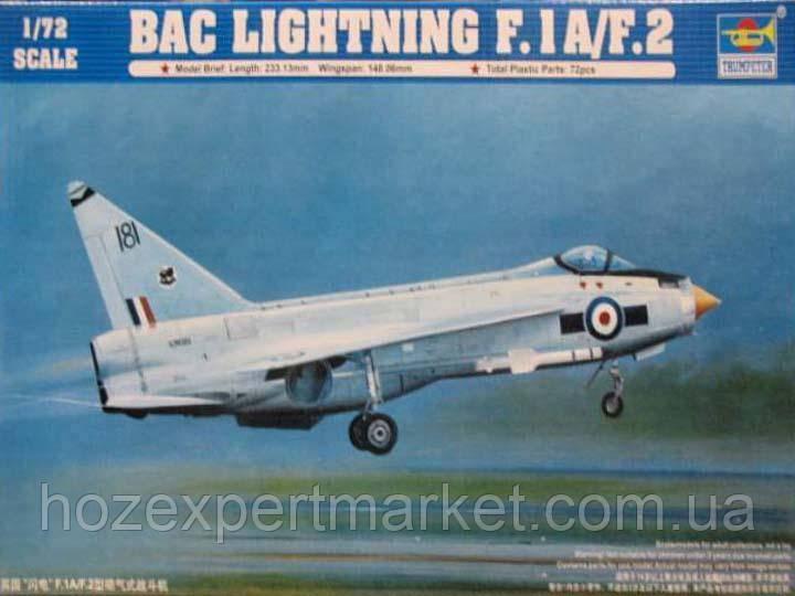 Самолет English Electric (BAC) Lightning F.1A/F.2