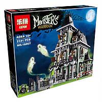 Конструктор Lepin 16007 Дом с привидениями - аналог лего 10228 Эксклюзив, 2141 дет.