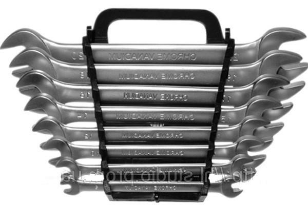 Набор ключей 48-910 рожковых CR-V 6шт (6-17мм) Berg