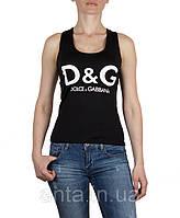 Майка D&G женская черная