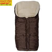 Конверт на овчине Kinder Comfort Arctic, коричневый, фото 1