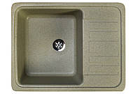 Кухонная гранитная мойка 57*46 см Valetti цвет терра серия Standart модель №9