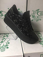 Женские модные стильные кожаные  криперы , туфли на платформе