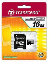 Карта памяти micro SDHC 16GB CL4 CV