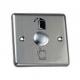 Кнопка выхода врезная, NO/NC/C, алюминий, максим.ток 3А, 86х86х20мм