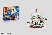 Конструктор BRICK 304 пиратский корабль 188 деталей кор.24*19*5