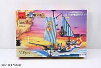 Конструктор BRICK 305 пиратский корабль 310 деталей кор.41,5*7*27,5