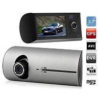 Автомобильный видеорегистратор X3000 на 2 камеры DF