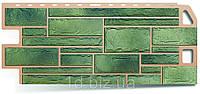 Цокольный сайдинг Камень (1130 х 470мм),малахит, Альта-Профиль