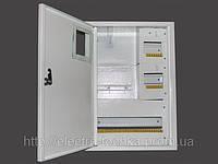 Щит учета распределительный металлический ЩУР-3Ф-В-24 автомата