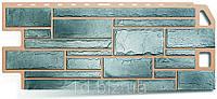 Цокольный сайдинг Камень (1130 х 470мм),топаз , Альта-Профиль