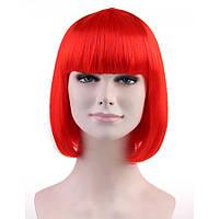 Парик каре красный  отличное качество 35 см, фото 1