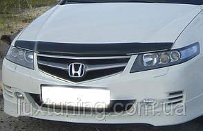 Дефлектор капота HIC Honda Accord CL-7 2006-2008