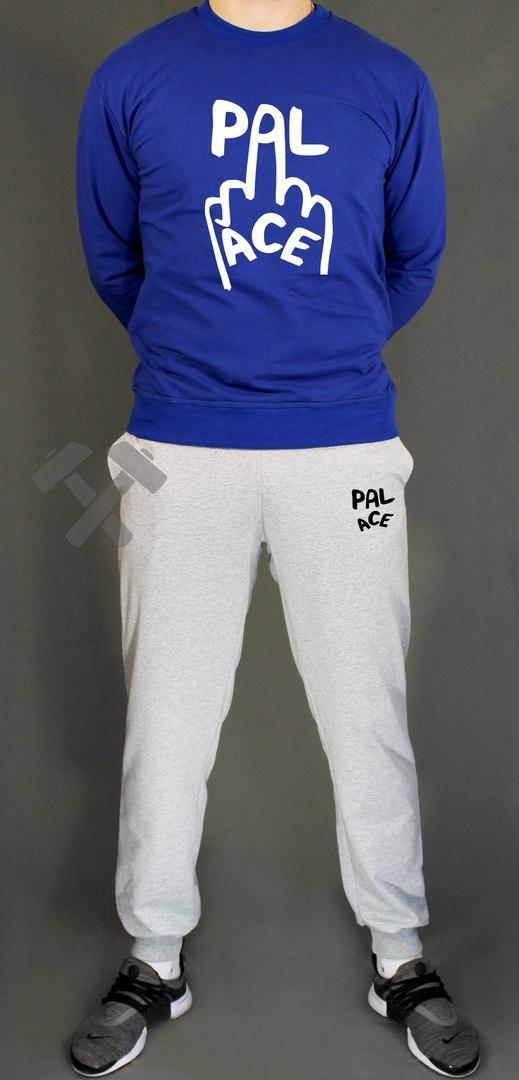 Спортивный костюм Паласе мужской, брендовый костюм Palace трикотажный (на флисе и без) копия