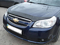 Дефлектор капота SIM Chevrolet Epica 2006- темный
